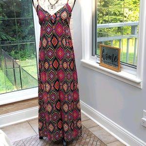 Forever 21 Maxi Dress, Size Large